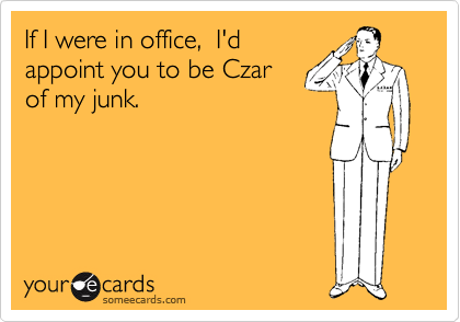 If I were in office,  I'd