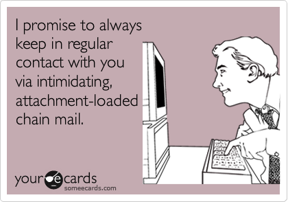 I promise to always 