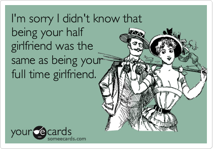 I'm sorry I didn't know that