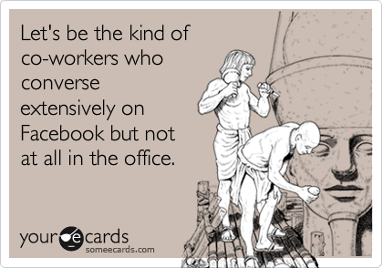 Let's be the kind of 