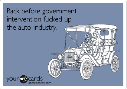 Back before government intervention fucked up 