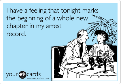 I have a feeling that tonight marks the beginning of a whole new