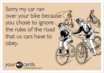 Sorry my car ran