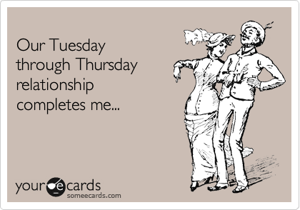 Our Tuesday