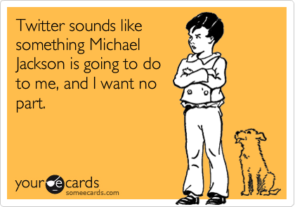 Twitter sounds like