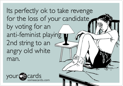 Its perfectly ok to take revenge
