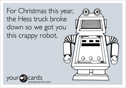 For Christmas this year,