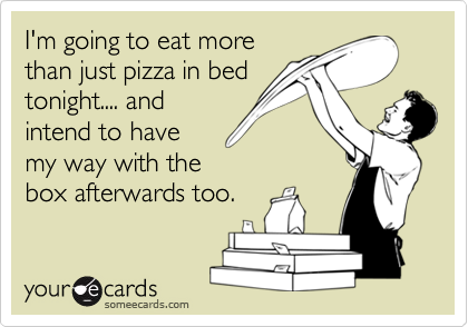 I'm going to eat more