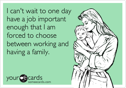 I can't wait to one day