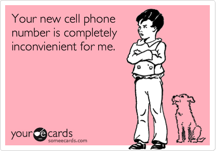 Your new cell phone