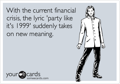 With the current financial