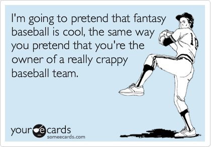 I'm going to pretend that fantasy