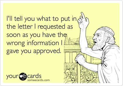 I'll tell you what to put in