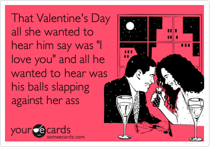 That Valentine's Day
