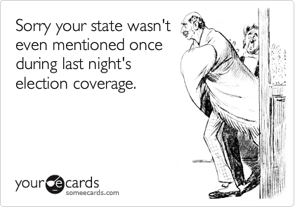 Sorry your state wasn't