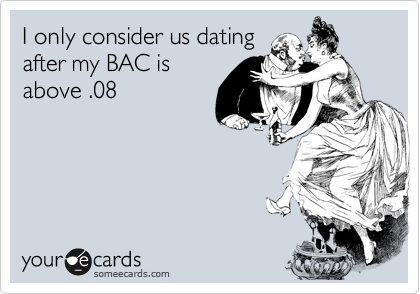 I only consider us dating