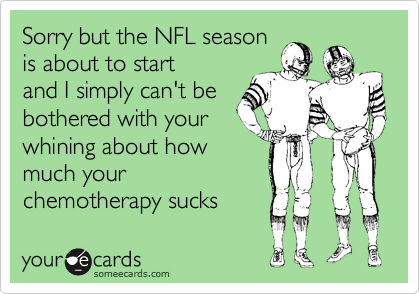 Sorry but the NFL season