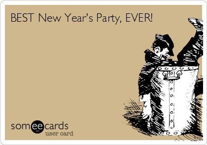 BEST New Year's Party, EVER!