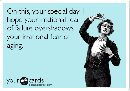 On this, your special day, I