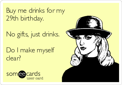 Search Results For 29th Birthday Ecards From Free And Funny – Some E Cards Birthday