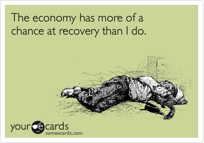 The economy has more of a 
