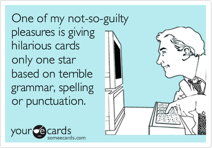 One of my not-so-guilty 