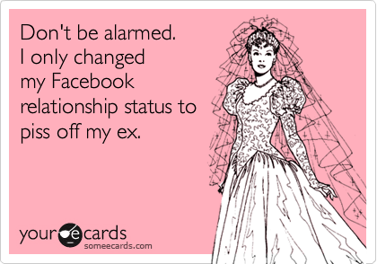 Don't be alarmed.