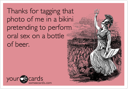 Thanks for tagging that