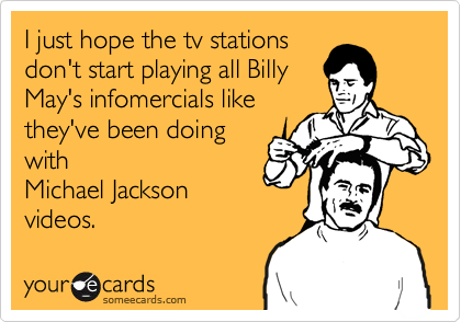 I just hope the tv stations
