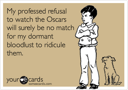 My professed refusal 