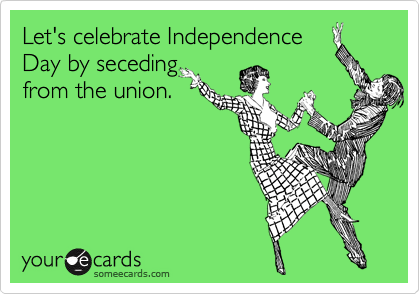 Let's celebrate Independence