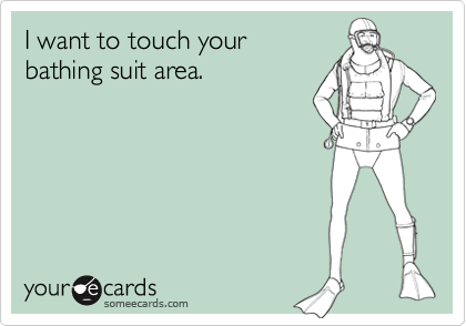 I want to touch your 