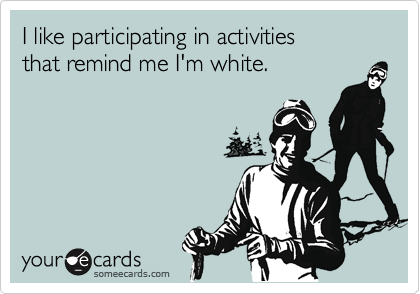 I like participating in activities