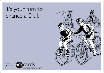 It's your turn to