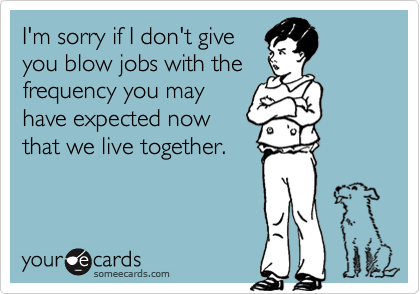I'm sorry if I don't give