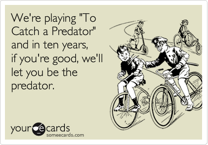"We're playing ""To