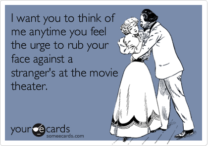 I want you to think of