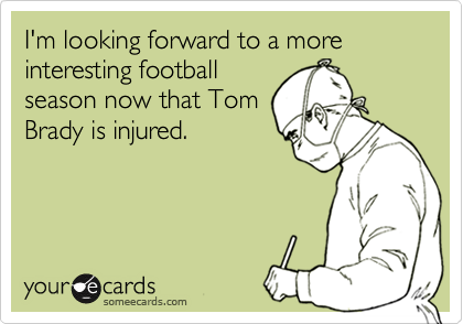 I'm looking forward to a more interesting football