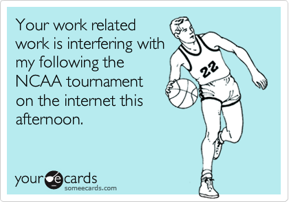 Your work related