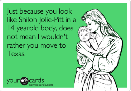 Just because you look