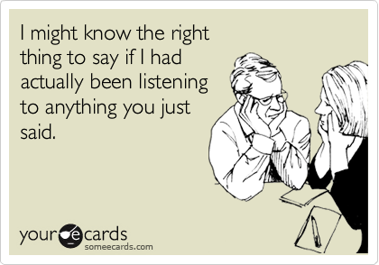 I might know the right 