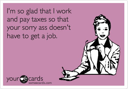 I'm so glad that I work 
