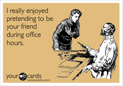 I really enjoyed