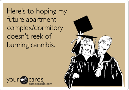 Here's to hoping my