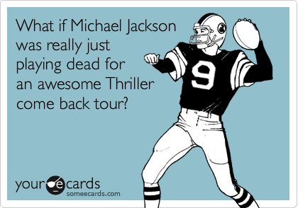 What if Michael Jackson