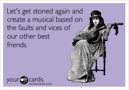 Let's get stoned again and