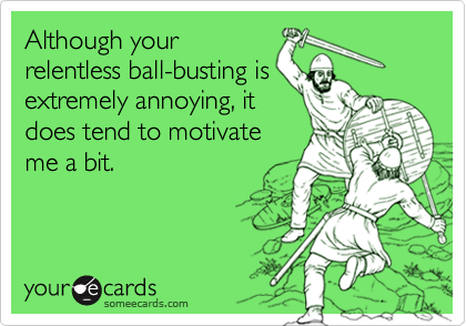 Although your