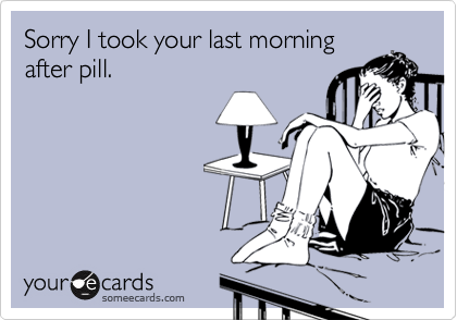 Sorry I took your last morning