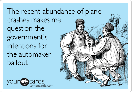 The recent abundance of plane