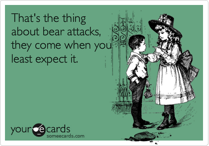 That's the thing